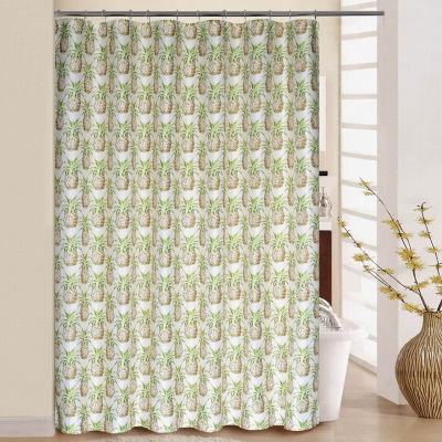 Waverly Pineapple Grove Shower Curtain Set
