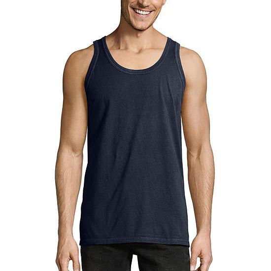 Hanes Men's ComfortWash Garment-Dyed Tank Top