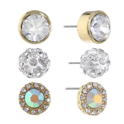 Monet Jewelry 3 Pair Earring Set
