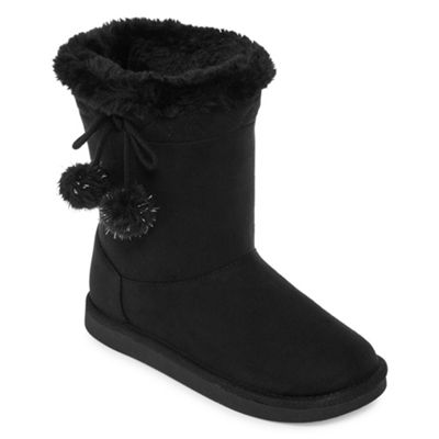 Arizona Little Kid/Big Kid Girls Zenith Winter Boots Flat Heel Pull-on