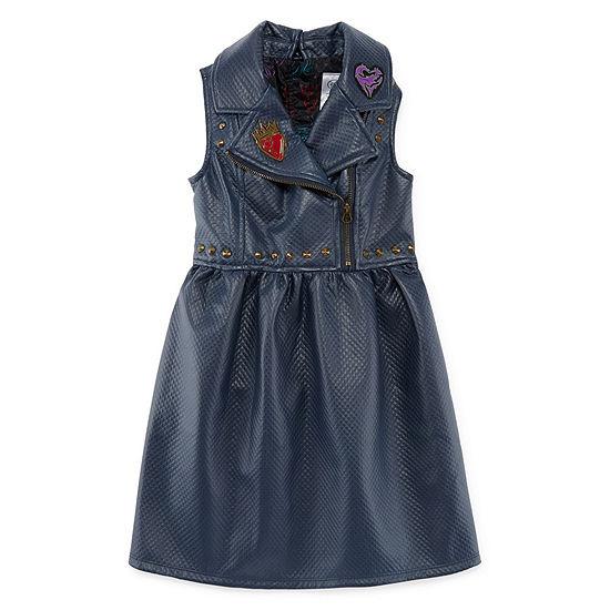 Disney Embellished Sleeveless Descendants Sundress - Preschool / Big Kid Girls