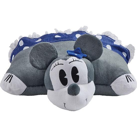 Disney Denim Minnie Mouse 16 Plush Pillow Pet