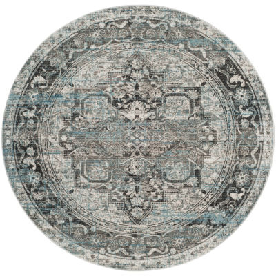 Safavieh Claremont Collection Clive Oriental RoundArea Rug