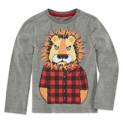 Seven Oaks Graphic 3D T-Shirt-Toddler Boys