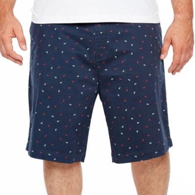 Jmco Chino Shorts-Big and Tall