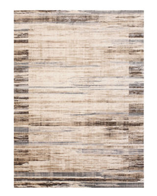 Distressed Bohemian Isabella Striped Rug
