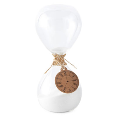 Home Essentials Sand Time Hourglass Tabletop Decor (clock face not included)