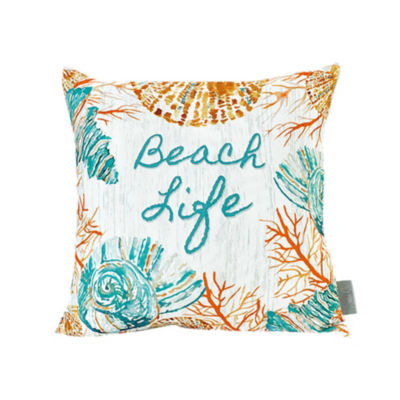 Sara B Beach Life Square Pillow