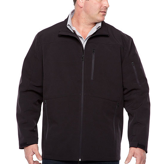 The Foundry Big & Tall Supply Co. Midweight Softshell Jacket Big and Tall