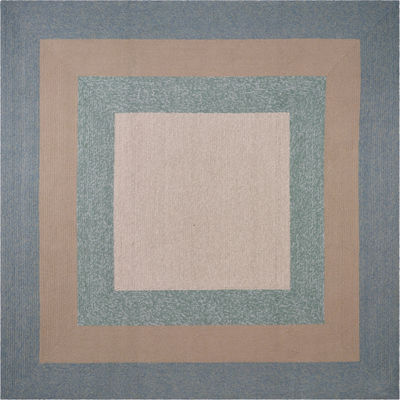 Hampton Highview By Libby Langdon Hooked Square Rug