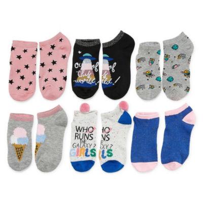 Arizona 6 Pair Low Cut Socks