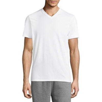 Msx By Michael Strahan Cotton Stretch 2-pc. Short Sleeve V Neck T-Shirt