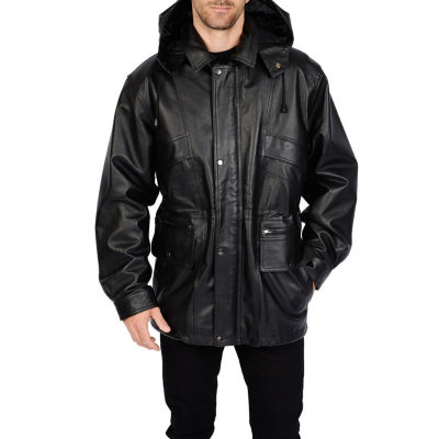 Excelled Pig Leather Parka - Big & Tall