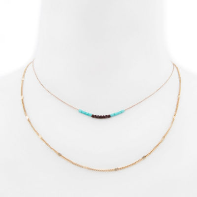 Arizona Womens 19 Inch Link Necklace