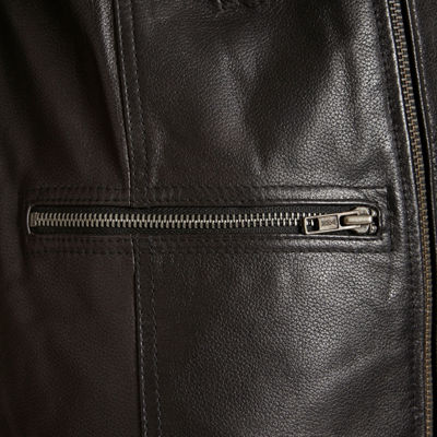 Excelled Leather Midweight Motorcycle Jacket - Big & Tall