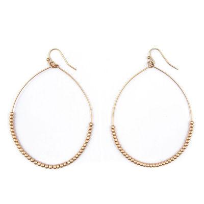 Arizona 70mm Hoop Earrings