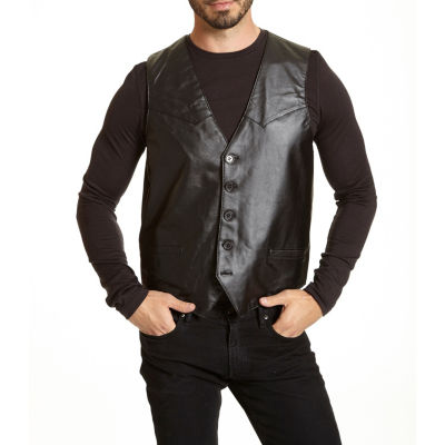Excelled Leather Vest - Big and Tall