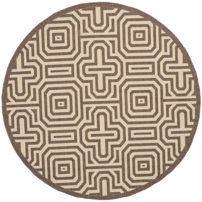 Safavieh Klara Geometric Round Indoor/Outdoor Area Rug