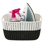 Sailor Knot Storage Tote With White Rim -Medium-11X9X6 Inch- 6.8 Lt.