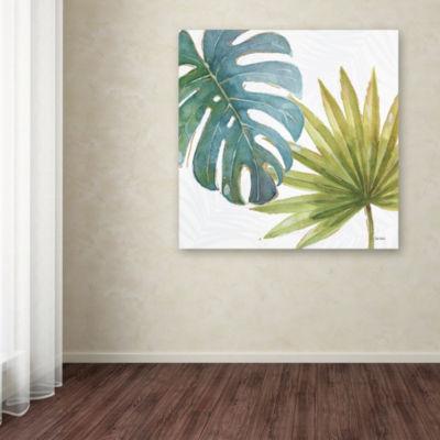 Trademark Fine Art Lisa Audit Tropical Blush VIIIGiclee Canvas Art