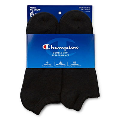 Champion® 6-pk. High-Performance No-Show Socks