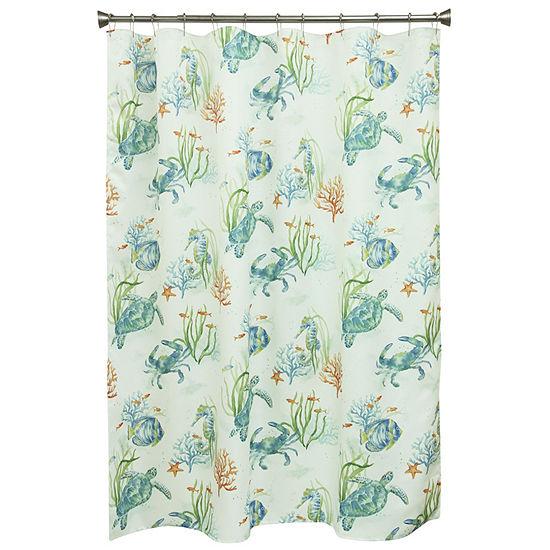 Bacova Guild Sea Life Serenade Shower Curtain