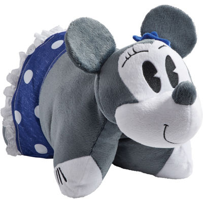 "Disney Denim Minnie Mouse 16"" Plush Pillow Pet"