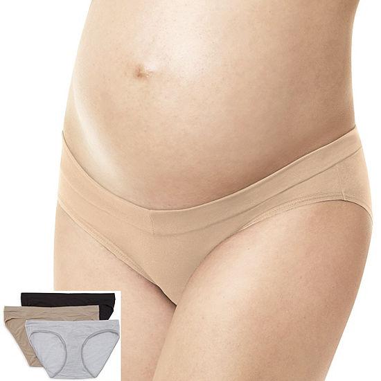 f4cb058a1f21e Playtex Maternity 3 Pair Knit Hipster Panty Pmvfhs - JCPenney