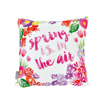 Sara B Spring is in the Air Square Pillow