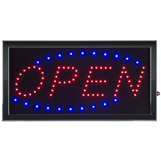 Lavish Home Neon LED Open Sign with Animation