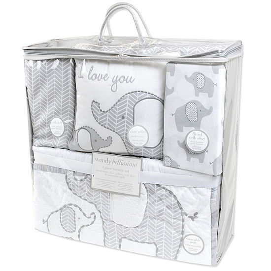 Wendy Bellissimo 4-pc. Crib Bedding Set