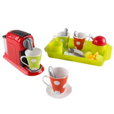 Hey! Play! Coffee Maker Pretend Kitchen Toy Set