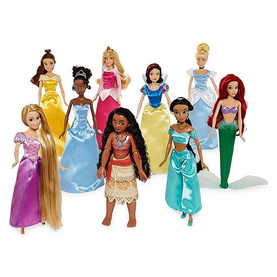 Disney Princess 9 Pc Toy Playset Girls