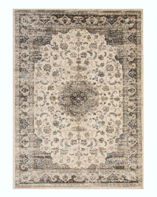 Distressed Bohemian Isabella Medallion Rug