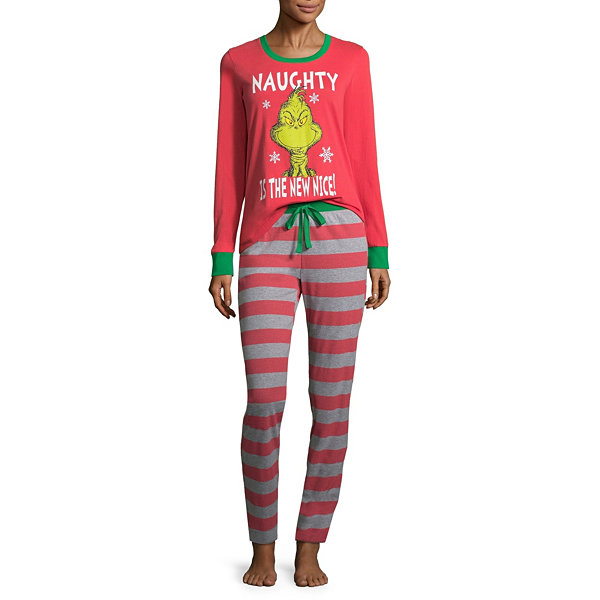 The Grinch 2 Piece Pajama Set -Women s 023fc6fa1