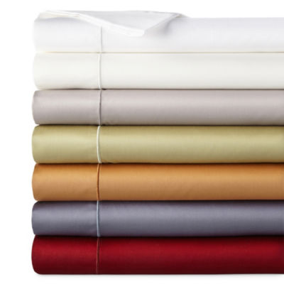 400tc Wrinkle Guard Deep Pocket Sheet Set - JCPenney Home