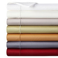 JCPenney Home 400tc Wrinkle Guard Deep Pocket Sheet Set Full Deals