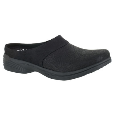 Easy Street Womens Solite By Easy Street Cozy Mules Slip-on Round Toe