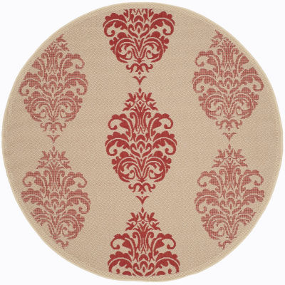 Safavieh Ray Floral Round Indoor/Outdoor Rugs