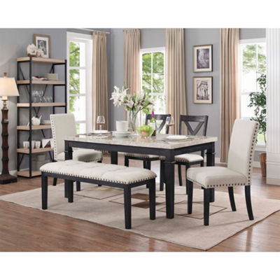 Picket House Furnishings Bradley 6PC Dining Set