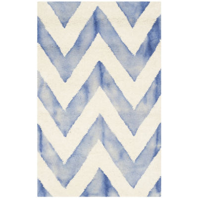 Safavieh Dip Dye Collection Ronnie Chevron Area Rug