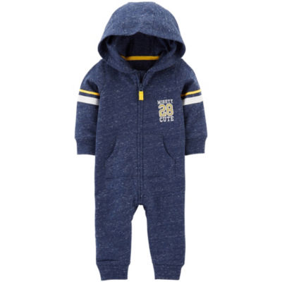 Carter's Long Sleeve Jumpsuit - Baby Boy