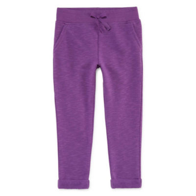 Okie Dokie Knit Jogger Pants - Toddler Girls