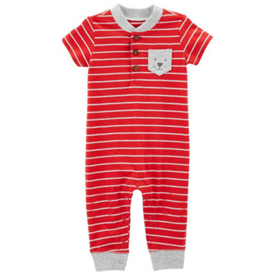 Carter's Short Sleeve Jumpsuit - Baby Boys