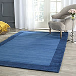 Safavieh Himalaya Collection Beckah Solid Square Area Rug
