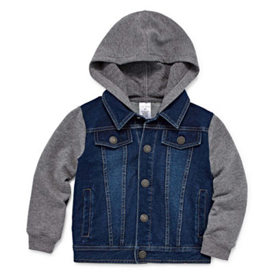 Okie Dokie Boys Denim Jacket-Toddler Boys