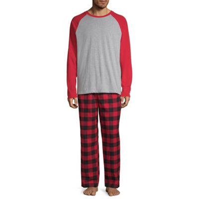 North Pole Trading Company Plaid Raglan 2 Piece Set -Men's