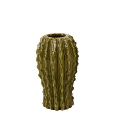Madison Park Cactus Ceramic Vase
