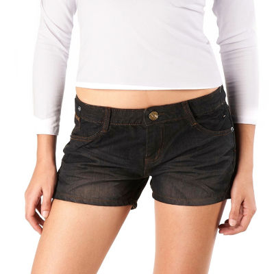 phistic Women's Embellished Denim Shorts