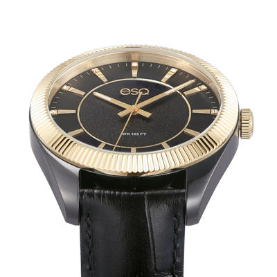 Esq Mens Black Strap Watch-37esq015001a